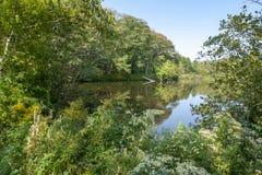 Paesaggio rivierasco intorno a Yarmouth immagini stock