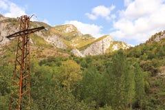 Paesaggio roccioso Bulgaria fotografia stock