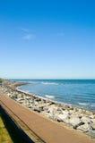 Paesaggio roccioso del litorale Fotografia Stock