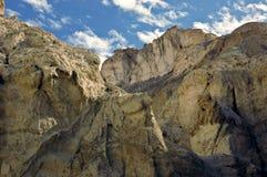 Paesaggio roccioso nel Negev Immagine Stock