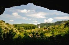 Paesaggio in Romania Immagini Stock Libere da Diritti