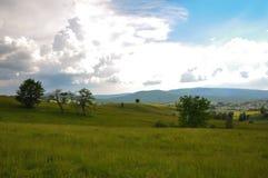 Paesaggio in Romania Fotografie Stock