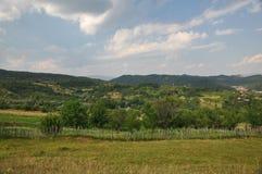 Paesaggio in Romania Fotografie Stock Libere da Diritti