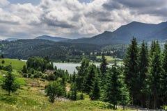 Paesaggio in Romania Fotografia Stock