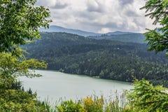 Paesaggio in Romaniaa Fotografia Stock