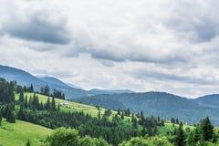 Paesaggio in Romaniaa Fotografie Stock