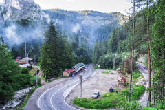 Paesaggio in Romaniaa Fotografia Stock Libera da Diritti