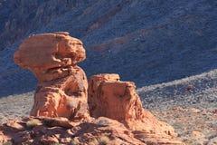Paesaggio rosso della roccia Fotografie Stock