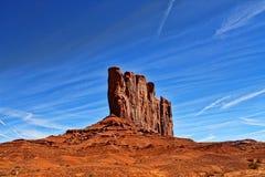 Paesaggio rosso della roccia Immagine Stock Libera da Diritti