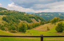 Paesaggio rumeno Fotografia Stock