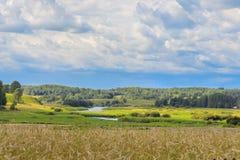Paesaggio rurale Immagini Stock