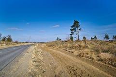 Paesaggio rurale Immagine Stock