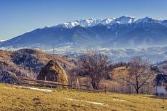 Paesaggio rurale alpino Fotografia Stock Libera da Diritti