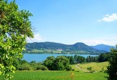 Paesaggio rurale austriaco fotografie stock libere da diritti