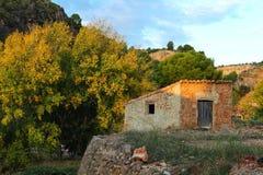 Paesaggio rurale a Chelva, Valencia immagini stock libere da diritti