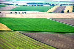 Paesaggio rurale d'autunno Fotografia Stock Libera da Diritti