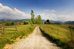 Paesaggio rurale dalla Romania Fotografia Stock