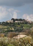 Paesaggio rurale della campagna nella regione della Toscana di I Immagine Stock