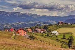 Paesaggio rurale della montagna Fotografie Stock Libere da Diritti