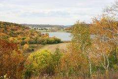 Paesaggio rurale di autunno Fotografia Stock