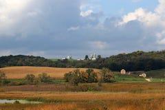 Paesaggio rurale di autunno Immagine Stock