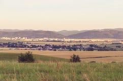 Paesaggio rurale di estate Fotografie Stock