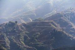 Paesaggio rurale di PA del Sa, Vietnam Fotografia Stock Libera da Diritti