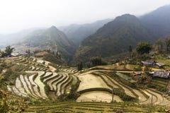 Paesaggio rurale di PA del Sa, Vietnam Immagine Stock Libera da Diritti