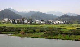Paesaggio rurale di paesaggio Fotografia Stock