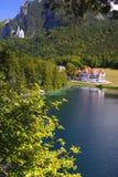 Paesaggio rurale di panorama in Baviera fotografie stock