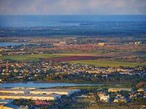 Paesaggio rurale di Pittoresque Fotografia Stock