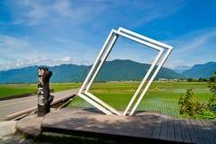Paesaggio rurale di Taiwan fotografie stock libere da diritti