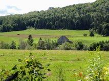 Paesaggio rurale di terreno coltivabile Immagini Stock Libere da Diritti
