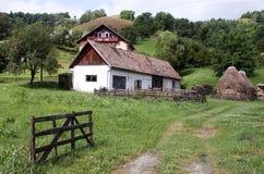Paesaggio rurale - formato GREZZO immagini stock