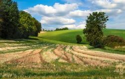 Paesaggio rurale idilliaco Fotografia Stock Libera da Diritti