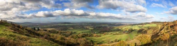 Paesaggio rurale idilliaco, Cotswolds Regno Unito immagini stock libere da diritti
