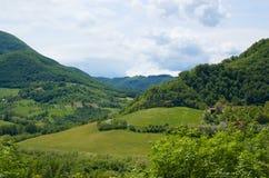 Paesaggio rurale in Italia Immagine Stock