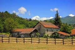 Paesaggio rurale in Maddalena, Italia Immagini Stock