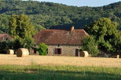 Paesaggio rurale nella Dordogna fotografia stock libera da diritti