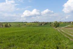 Paesaggio rurale Polonia orientale Immagini Stock