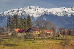 Paesaggio rurale rumeno immagine stock