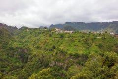 Paesaggio rurale tipico sul Madera Immagine Stock