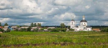 Paesaggio russo Immagine Stock