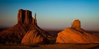 Paesaggio sacro al tramonto Immagine Stock