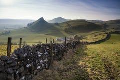 Paesaggio sbalorditivo della collina di Chrome e della collina di Parkhouse nel picco DIS Fotografie Stock