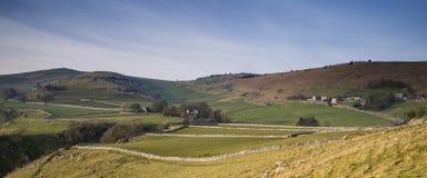 Paesaggio sbalorditivo della collina di Chrome e della collina di Parkhouse nel picco DIS Fotografie Stock Libere da Diritti