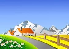 paesaggio scenico Fotografia Stock