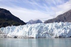 Paesaggio scenico blu della baia di ghiacciaio immagini stock libere da diritti
