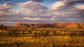 Paesaggio scenico del deserto fotografia stock