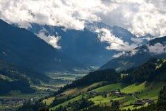 Paesaggio scenico dell'Austria Immagine Stock